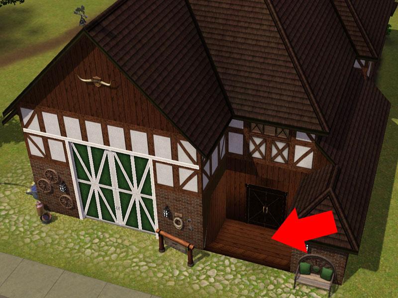 Sims 3 Tutorial Keller Von Aussen Begehbar Machen