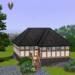 Sims 3 half-timbered base game starter 01