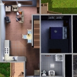 Sims 3 half-timbered base game starter 12