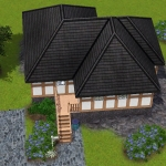 Sims 3 half-timbered base game starter 14