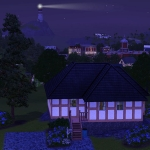 Sims 3 half-timbered base game starter 15