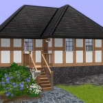 Sims 3 half-timbered base game starter 02