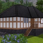 Sims 3 half-timbered base game starter 03