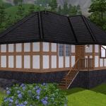 Sims 3 half-timbered base game starter 03