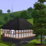 Sims 3 half-timbered base game starter 04