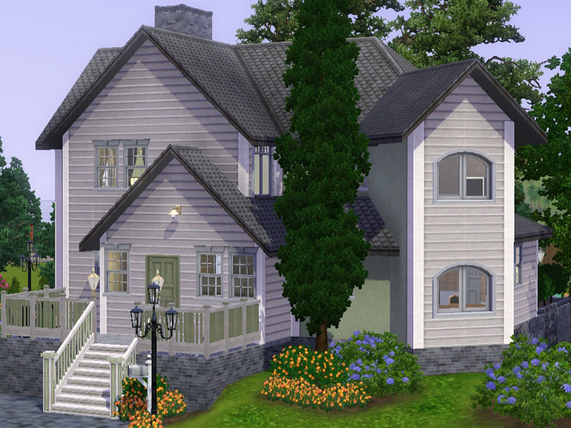 Mibelle classic base game family home simension for Classic family home
