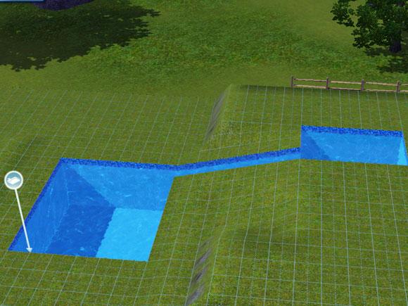 Tutorial wasserrtusche mit sanften gef lle pool tool - Pool untergrund begradigen ...