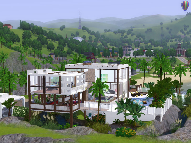 1 for Modernes haus sims 2