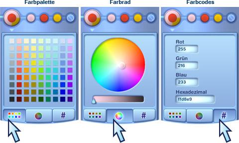 [Tutorial] CaS-Tool - Möglichkeiten der Farbwahl