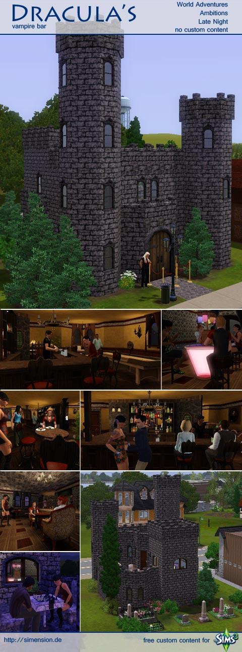 community: vampire bar - Dracula's