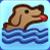 Schwimmt gern