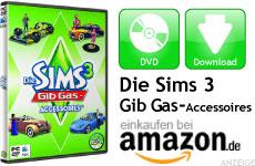 Mini Die Sims 3 Gib Gas-Accessoires