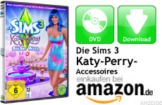 Mini Die Sims 3 Katy Perry Süße Welt