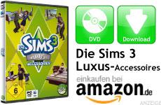 Mini Die Sims 3 Luxus-Accessoires