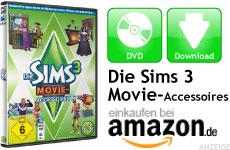 Mini Die Sims 3 Movie-Accessoires