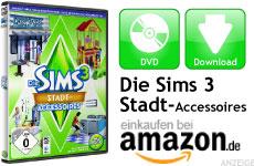 Mini Die Sims 3 Stadt-Accessoires