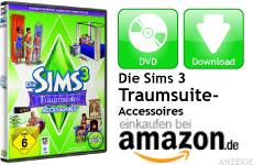 Mini Die Sims 3 Traumsuite-Accessoires