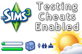 Die Sims 3 Cheat TestingCheatsEnabled