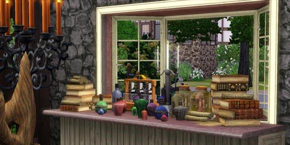 Schaufenster mit Kleinwaren