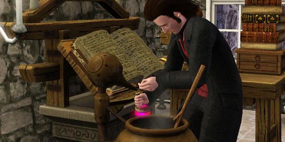 Alchemist an Elixierstation