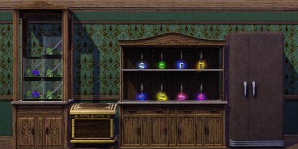 verschiedene Inventare aus Die Sims 3