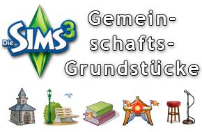 Die Sims 3 Gemeinschaftsgrundstücke