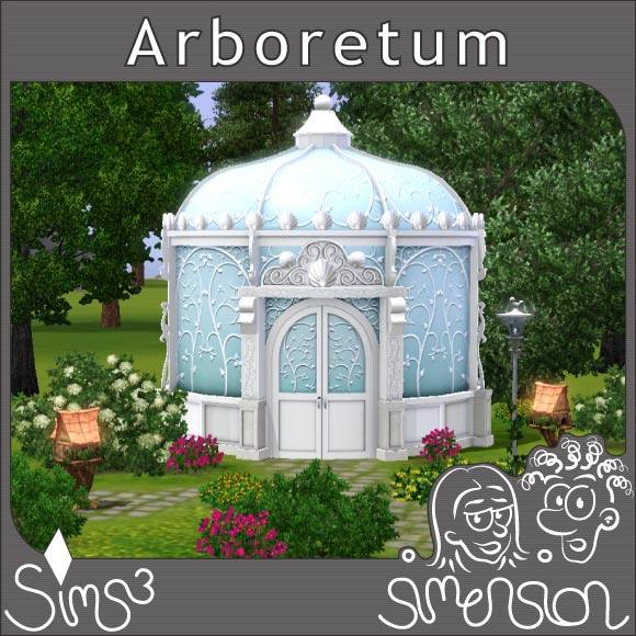 Arboretum in einem Park