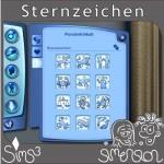 Dialog zur Wahl des Sternzeichens in Die Sims 3