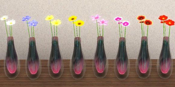 alsl a Wildblumen in einer Vase