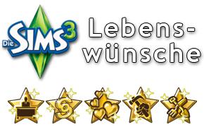 Die Sims 3 Lebenswünsche
