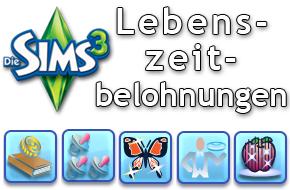 Die Sims 3 Lebenszeitbelohnungen