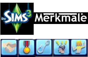 Die Sims 3 Merkmale