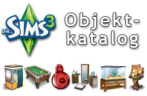 Die Sims 3 Objektkatalog