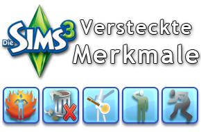 Die Sims 3 versteckte Merkmale
