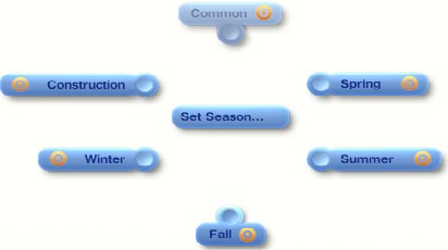 Seasonal Lot Marker - seasonal modes