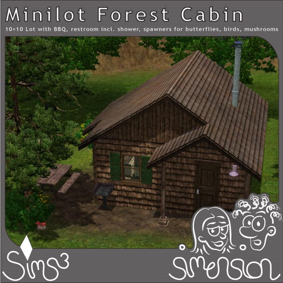 Forest Cabin with BBQ