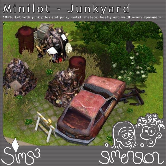 Junkyard with Junkpiles