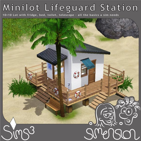 Lifeguard Station | Rettungsschwimmerhäuschen