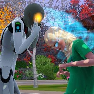Alien übt Gedankenkontrolle über einen Sim aus