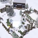 Lichtfabrik im Winter