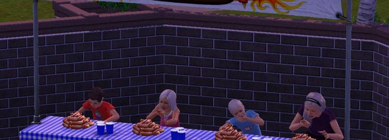 Hotdog-Wettessen
