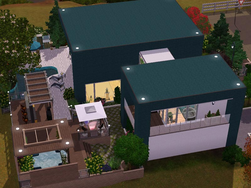Sims 3 - Download - Arjan - modern home | modernes Haus