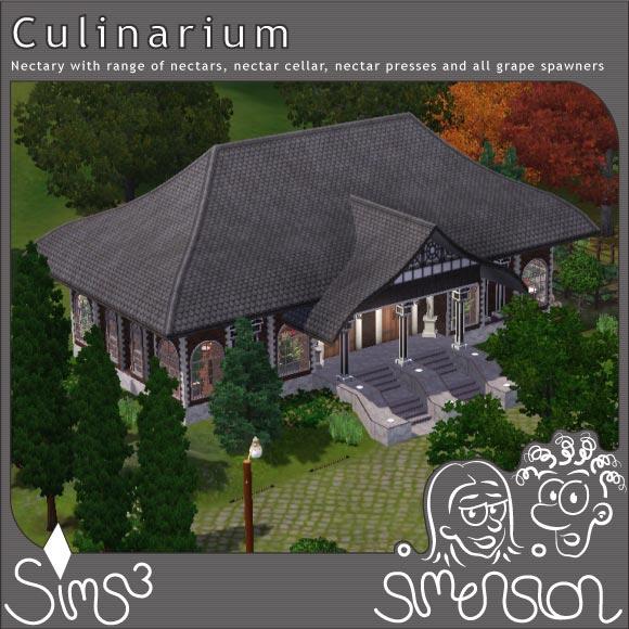 Sims 3 Download nectary | Nektarium - Cullinarium
