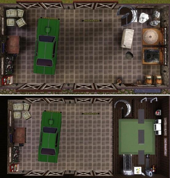 barn - floorplan