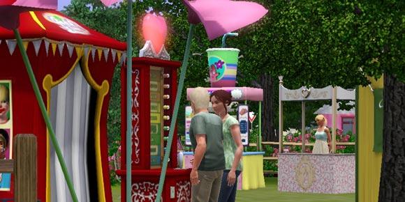 zwei Sims am Liebesinspektor