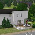 Sims 3 Golf Club - street view | Straßenansicht
