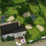 Sims 3 golf course | Golfkurs