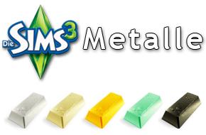Die Sims 3 Metalle