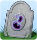 Grabstein Ableben durch Geleebonbon
