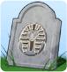 Grabstein Fluch der Mumie